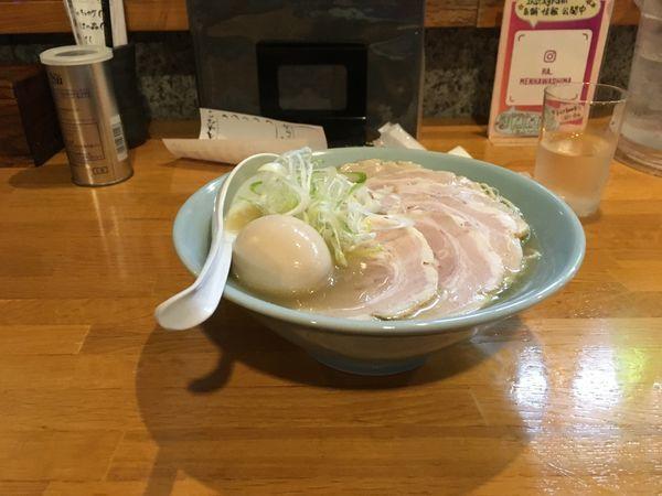 「チャーシュー麺 塩」@らーめん川嶋の写真