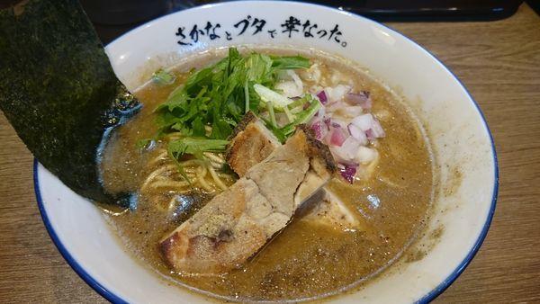 「煮干らーめん(800円)」@さかなとブタで幸なった。の写真