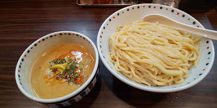 「胡麻味噌つけ麺(大盛)」@らー麺 あけどやの写真