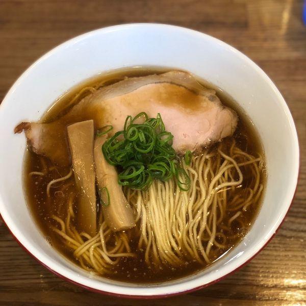 「醤油ラーメン大盛り」@中華蕎麦 さい藤の写真