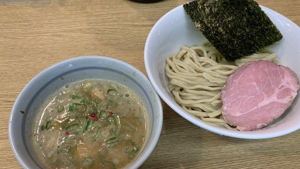「鶏白湯魚介つけめん」@RAMEN 一麺托生の写真
