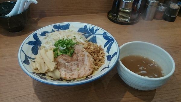 「限定麻棘まぜそば・スープ付き・大盛無料 ¥790」@らーめん勇の写真