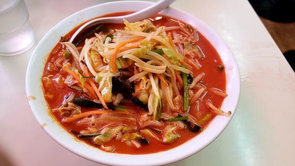 「タンメン激辛」@中華 つけ麺 はるきの写真