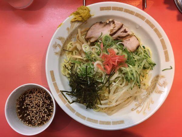 「冷やし中華つけ麺」@一龍の写真