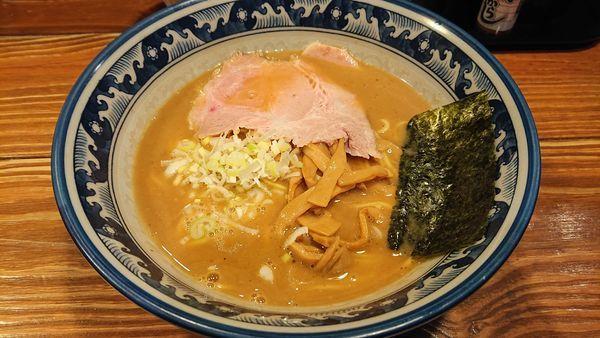 「らーめん(細麺)」@らーめん木尾田の写真