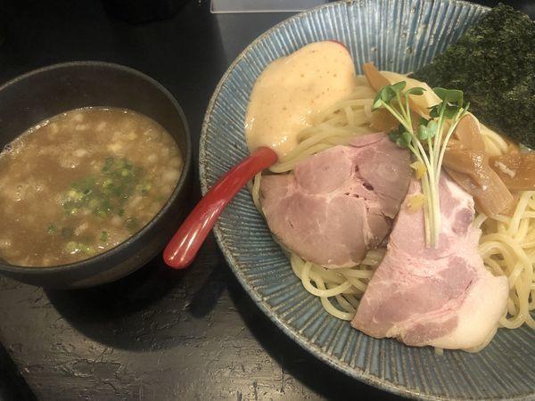 「梅と煮干つけ麺・大盛(850円)」@麺屋 ちょこざいの写真