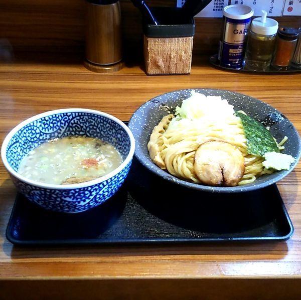 「濃厚鶏魚介つけ麺」@らーめん鈴家の写真