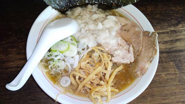 「ラーメン小 ¥700」@手打ち中華そば 酒田 平間店の写真