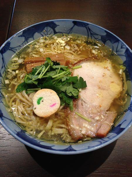 「塩そば 750円」@食煅 もみじの写真