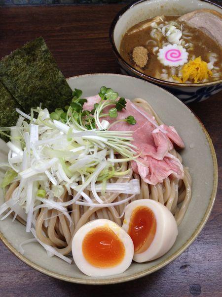 「濃厚魚介特製つけ麺 大 1200円」@麺屋みつば+クローバーの写真