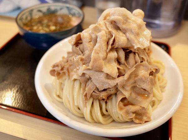 「胡椒肉つけ麺…880円&肉増し…+150円」@つけ麺丸和 各務原分店の写真