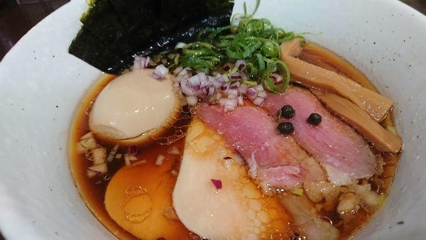 「特製(醤油)」@麺や 魁星の写真