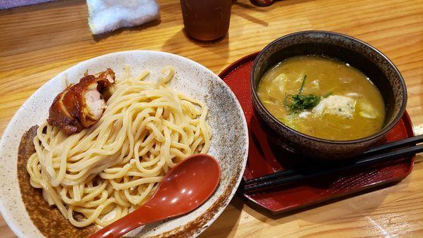 「カシューナッツつけ麺」@中華蕎麦 つけ麺 五味五香の写真