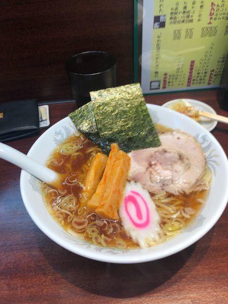 「中華そば500円 +税」@中華食堂 けんの写真