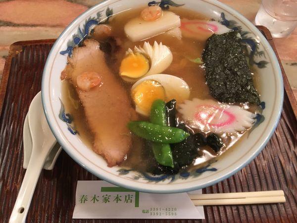 「五目中華そば ¥1300」@春木家本店の写真