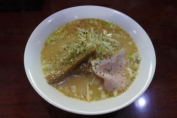 「味噌ラーメン¥750」@麺処 本日晴天の写真