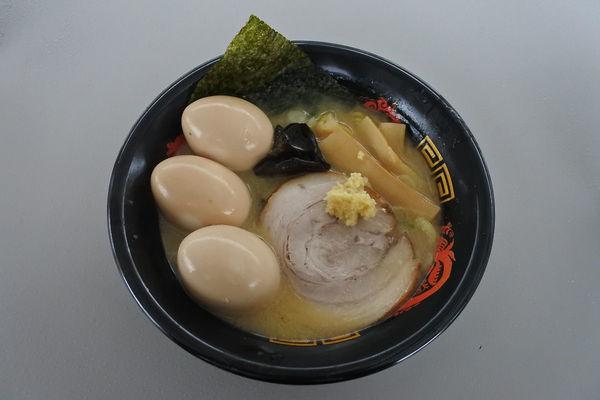 「札幌味噌らーめん+とろ~り味玉トリプル¥300@札幌みその」@ふくしまラーメンショー2019の写真