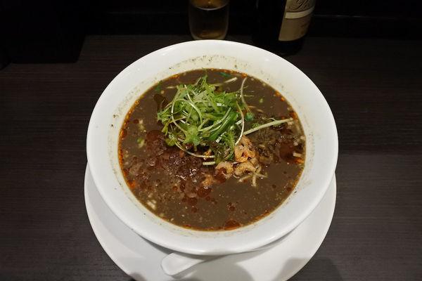「黒胡麻担担麺¥850」@四川担担麺 阿吽 キッテグランシェ店の写真