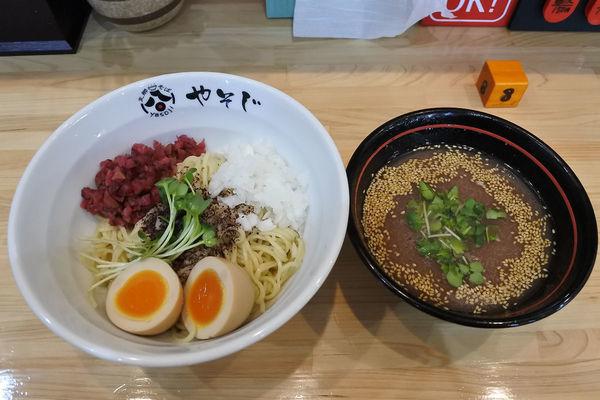 「【限定】梅つけ麺¥800」@支那そば やそじの写真