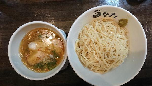 「あっさり塩つけ麺中盛り 950円」@麺や ひなたの写真