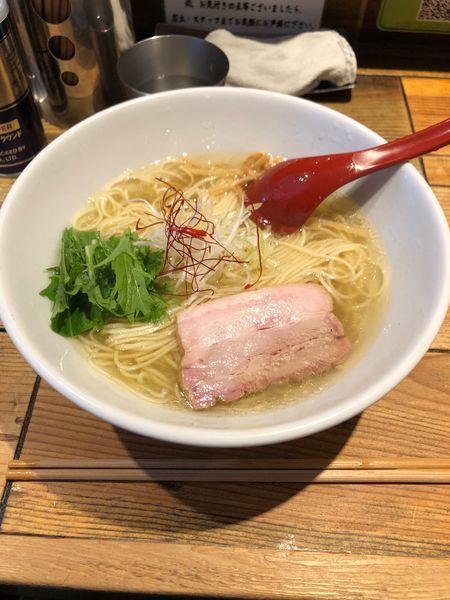 「香彩鷄だし塩ラーメン」@麺屋 翔 本店の写真