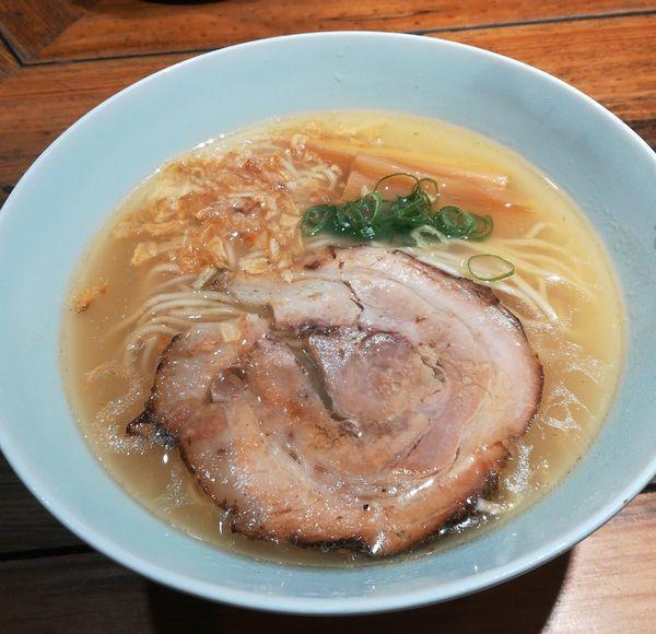 「中華そば(塩)」@松戸中華そば 富田食堂の写真
