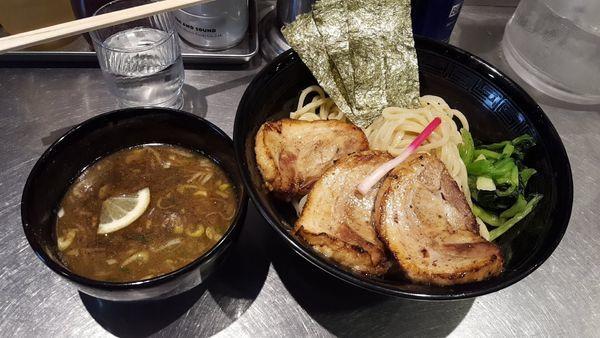 「炙りチャーシューつけ麺」@龍が如しの写真