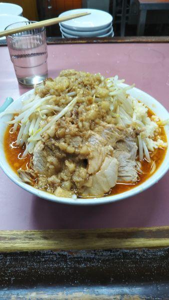 「味噌ラーメン(200g)」@ラーメン荘 おもしろい方への写真