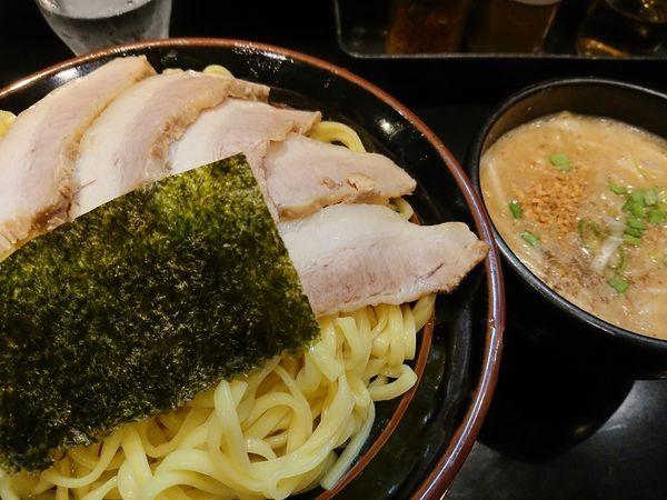 「大つけ麺 チャーシュー」@豚骨味噌ラーメン じゃぐら 野方本店の写真