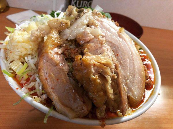 「【限定】台湾ラーメン+豚増し」@豚星。の写真