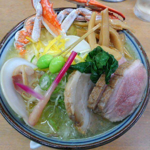 「鶏スープ天然柚子塩IN大蛤C (2000円)(違ったかも)他」@MENYA 食い味の道有楽の写真