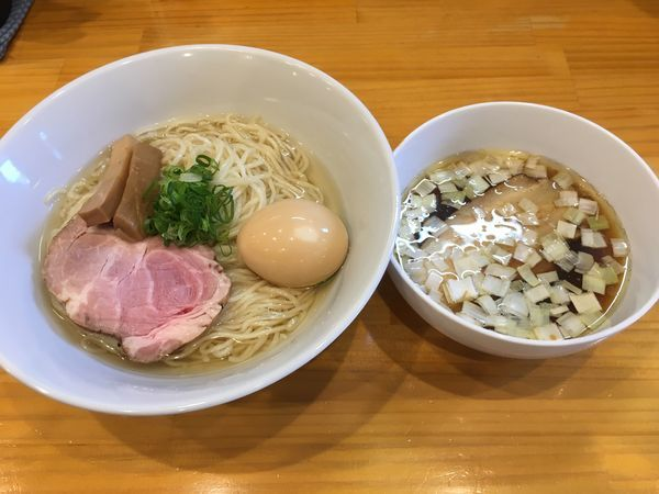 「昆布水つけ麺」@麺匠 金衛門の写真