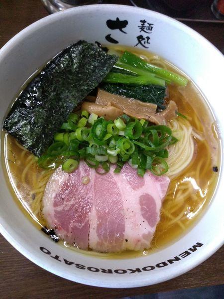 「豊魚鶏だし醤油ラーメン (中盛無料) 790円」@麺処 さとうの写真
