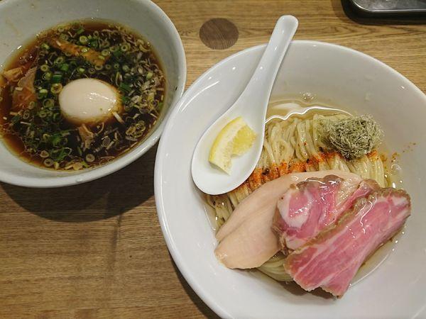 「特製つけそば(軍鶏)1200円」@麺尊 RAGEの写真