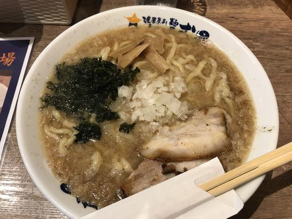 「弍星流燕三条ラーメン【750円】」@濃厚煮干しラーメン 麺屋 弐星の写真