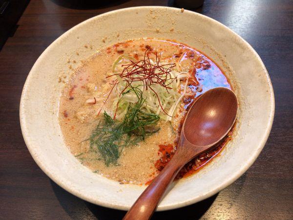 「薬研堀坦々麺」@和風創作拉麺 天雷軒九段下の写真