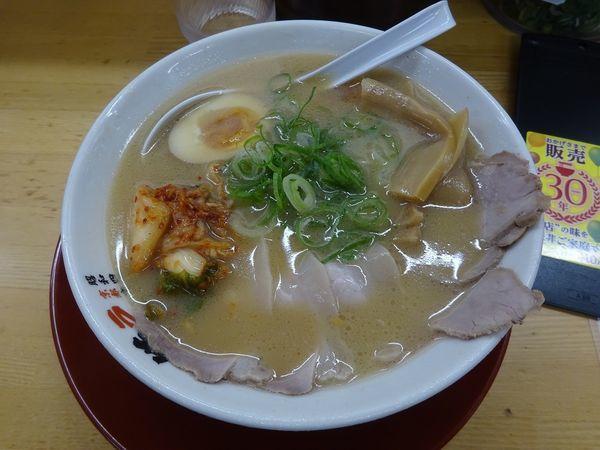 「彩ラーメン(並)」@ラーメン 横綱 高槻店の写真