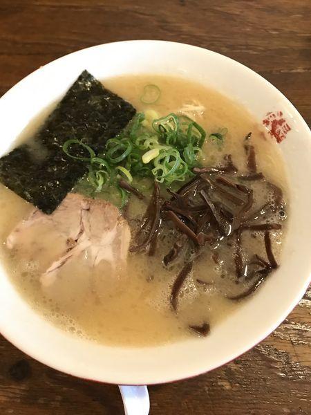 「長浜とんこつラーメン」@博多餃子房 長浜食堂の写真