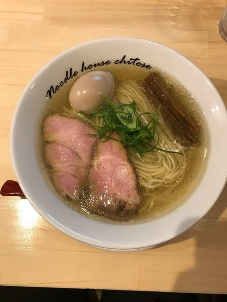「塩煮玉子 900円」@麺庵ちとせの写真