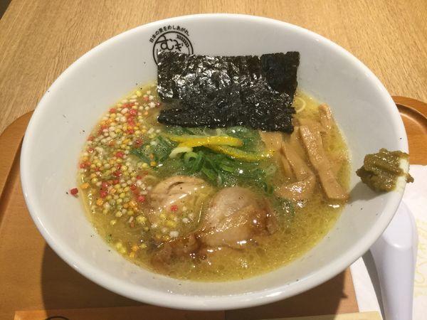 「名古屋コーチン濃厚鶏ラーメン(¥800)【麺屋 音】」@むぎくらべの写真