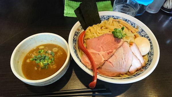 「特製つけ麺  大盛(450)」@麺処 夏海の写真