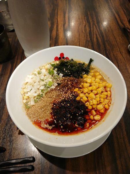 「胡麻味噌担担麺 @850円 期間限定」@シビれ担担麺 マーラーキング 本店の写真