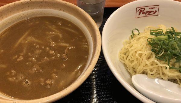 「ビーフカレーつけ麺」@ミスターPuppyの写真