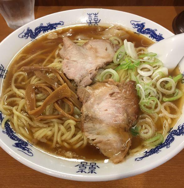 「ワンタン麺 大」@共楽の写真