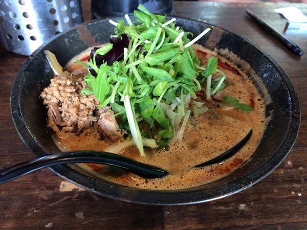 「担々麺・赤」@担々麺専門店 GOMAの写真