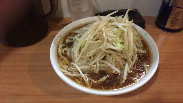 「小ラーメン(ニンニク無し・野菜少な目)750円」@豚星。の写真