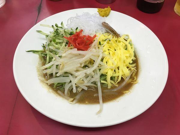 「アサヒスーパードライ小瓶 → 冷し中華」@博多天神 新宿西口店の写真
