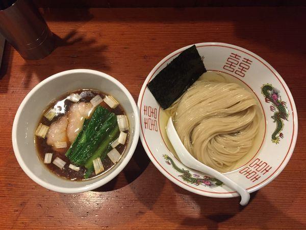 「濃厚昆布水の淡麗つけ麺(醤油)」@麺処 ほん田の写真