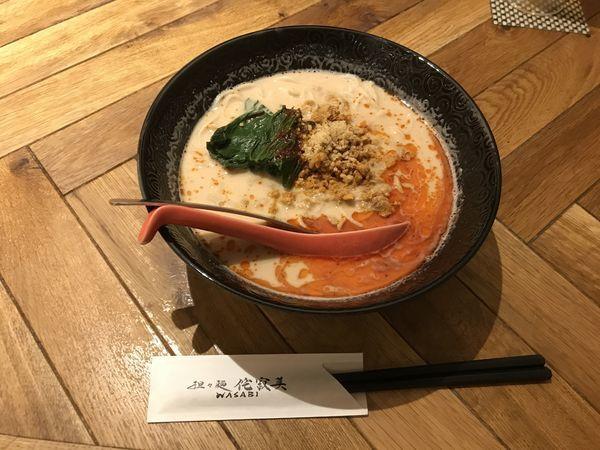 「担々麺 硬め」@担々麺 侘寂美の写真