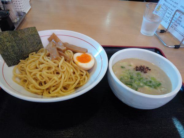 「塩とんこつつけ麺850円」@らーめん もかすけの写真